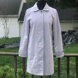 GAP Lavender Trench Coat